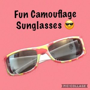 Other - ✅4 for $20✅ Shades in pink camouflage